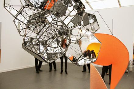 Installation Shot - Tanya Bonakdar - Frieze NYC - 2012
