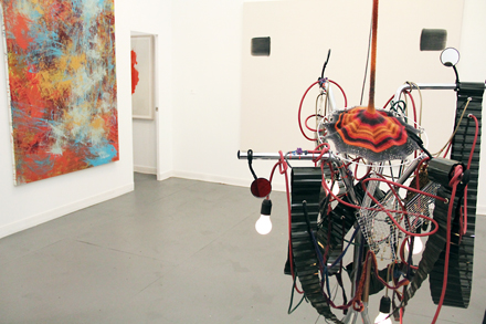 Installation Shot - Tina Kim Gallery - Frieze NYC - 2012