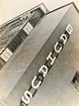 Iwao Yamawaki, Bauhaus Building Dessau (1930). Barbican. (Photo via Galerie Benrinson, Berlin)