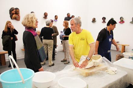 John Ahearn - Frieze Projects - Frieze NYC - 2012