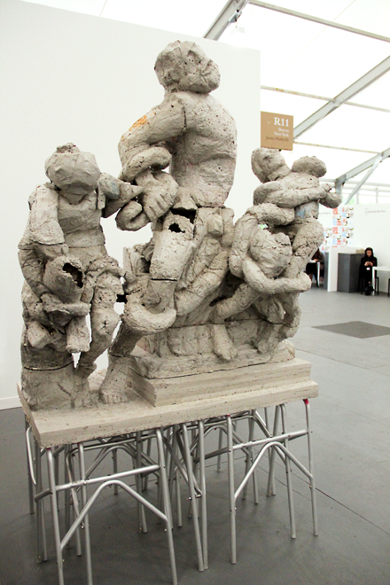 Justin Matherly - Bureau - Frieze NYC - 2012