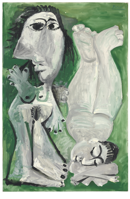 Pablo Picasso - Deux nus couches - Christie's - Impressionist and Modern Art Sale - 2012
