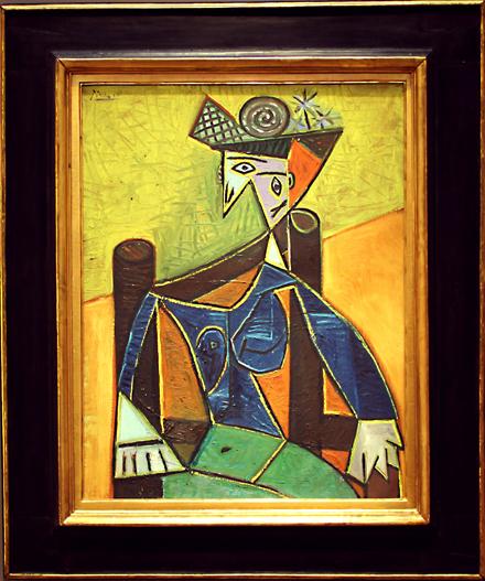 Pablo Picasso - Femme Assise Dans Un Fauteuil - Sotheby's - Impressionist and Modern Art Sale - 2012