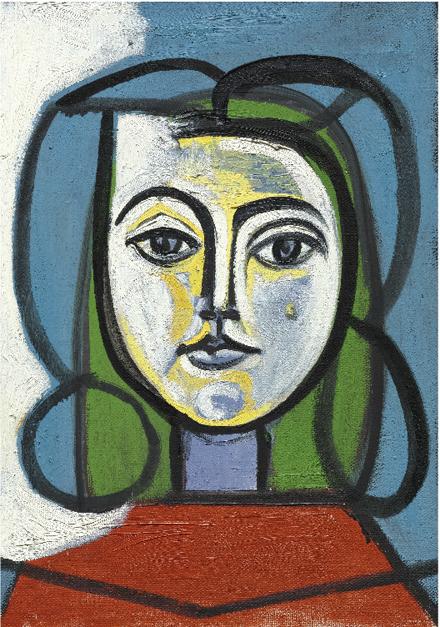 Pablo Picasso - Tete De Femme (Portrat De Francoise) - Sotheby's - Impressionist and Modern Art Evening Sale - 2012