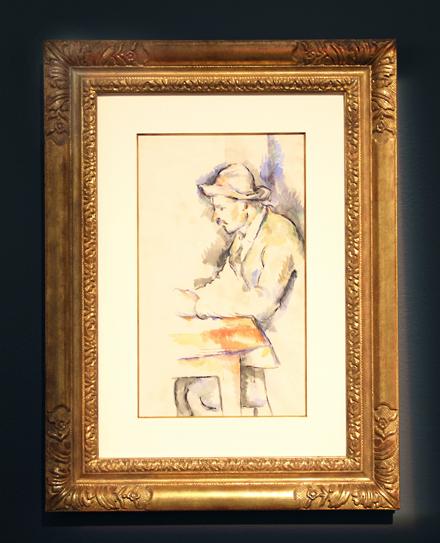 Paul Cezanne - Jouer des Cartes - Christie's - Impressionist and Modern Sale - 2012
