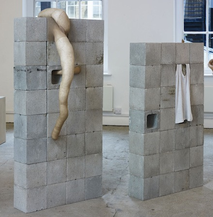 Sarah Lucas, Enjoy God, 2012. Situation Make Love, Sadie Coles.