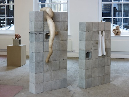 Sarah Lucas, Installation 2, 2012. Situation Make Love, Sadie Coles