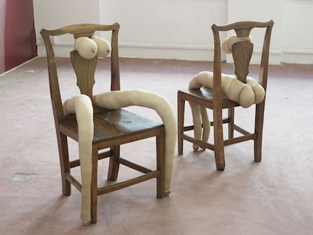 Sarah Lucas, Make Love, 2012. Situation Make Love, Sadie Coles