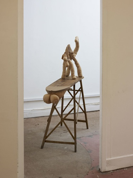 Sarah Lucas, Pussy, 2012. Situation Make Love, Sadie Coles