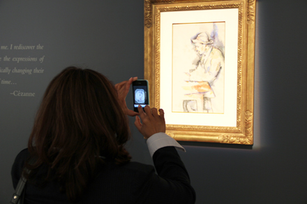 Viewer and Jouer des Cartes - Christie's - Impressionist and Modern Sale - 2012