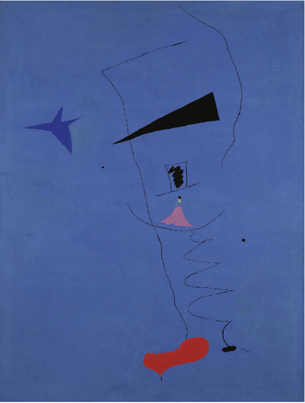 Joan Miro - Peinture Etoile Bleue - Impressionist and Modern Sale - Sotheby's - 2012