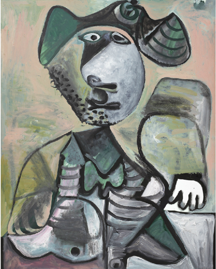 Pablo Picasso - Homme Assis - Impressionist and Modern Sale - Sotheby's - 2012