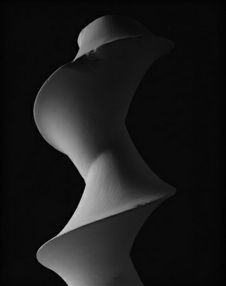Hiroshi Sugimoto - Conceptual Forms 0003 Dini's Surface: a surface of constant negative curvature obtained by twisting a psuedosphere - Pace Gallery Beijing
