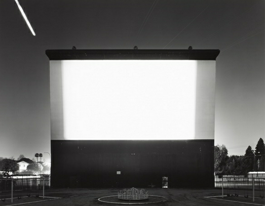 Hiroshi Sugimoto - Studio Drive-In, Culver City - Pace Gallery Beijing