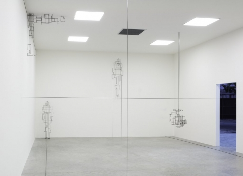 Anthony Gormley - Liners (Gallery View) - White Cube Gallery