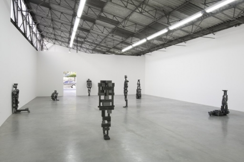 Anthony Gormley - Proppers (Gallery View) - White Cube Gallery