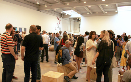 Opening 8 - People Who Work Here - David Zwirner - 2012