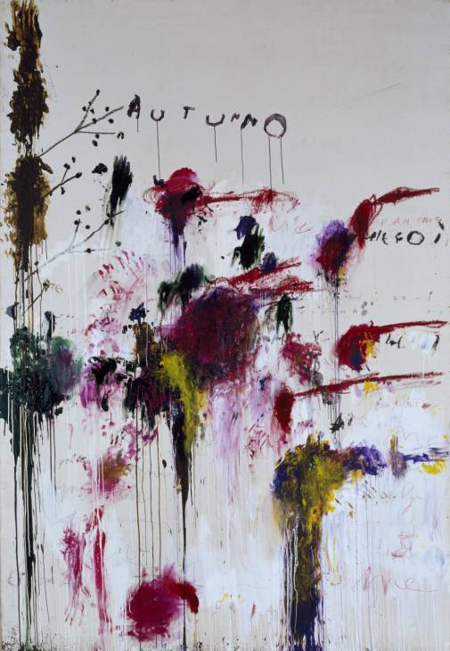 Cy Twombly - Quattro Stagioni: Autunno (1993-95) - Tate Liverpool