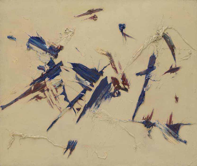 "Judit Reigl, ""Outburst"" (1956), Solomon R. Guggenheim Museum"