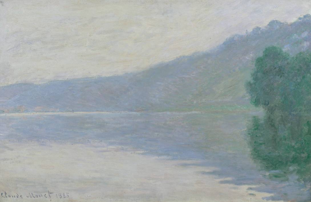Claude Monet - The Seine at Port-Villez (1894) - Tate Liverpool