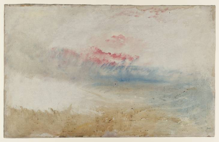 Joseph Mallord Turner - Red Sky over a Beach (1840-45) - Tate Liverpool