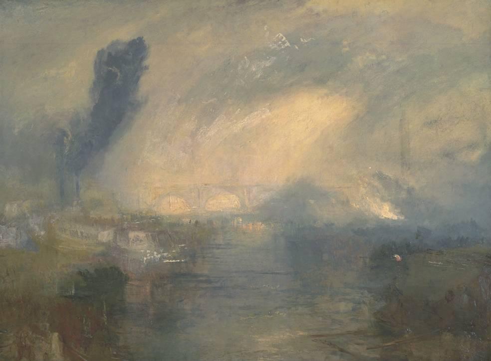 Joseph Mallord William Turner - The Thames above Waterloo Bridge (1830-35) - Tate Liverpool