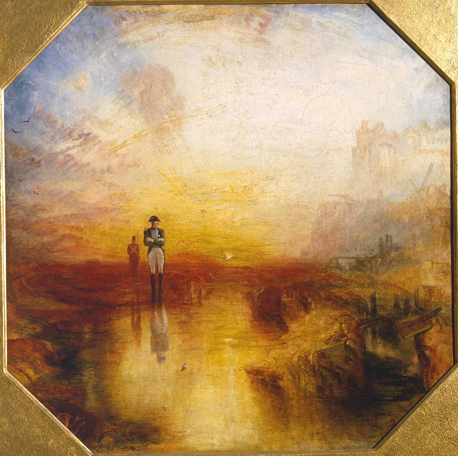 Joseph Mallord Turner - War. The Exile and the Rock Limpet (1842) - Tate Liverpool