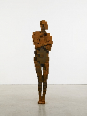 Anthony Gormley - Turn III (2010), White Cube Gallery
