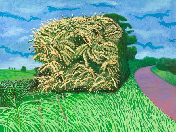 David Hockney - The Big Hawthorn, (2008), Guggenheim Bilbao