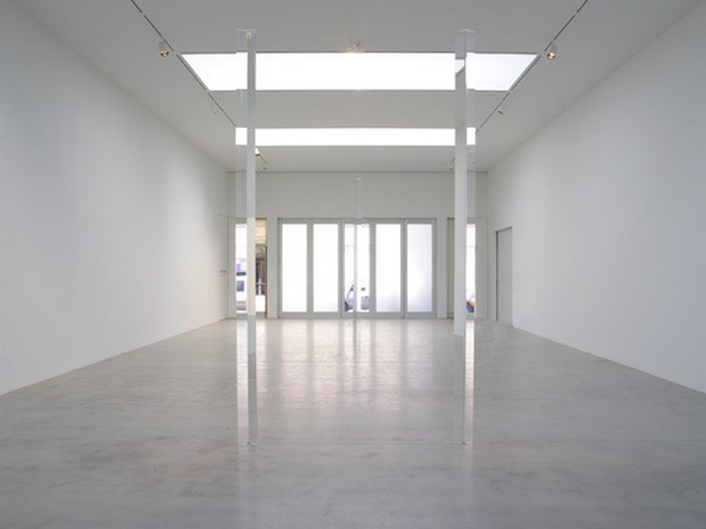 Robert Irwin - Crossing the t's and Dotting the i's part II (2012), Via The Pace Gallery