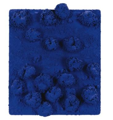 Yves Klein Sponge Relief via Sotheby's