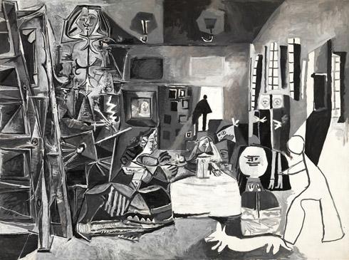 Pablo Picasso - The Maids of Homer (1957), Via The Guggenhem Museum