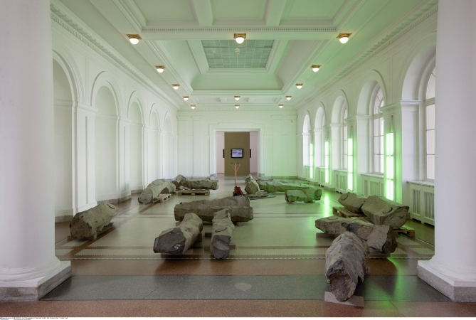 Joseph Beuys Das Ende des 20. Jahrhunderts», 1983 Sammlung Marx  Thomas Bruns. VG Bild-Kunst, RAO, 2012