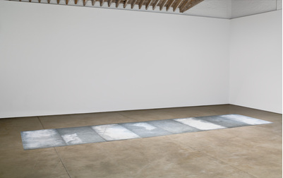 "Carl Andre - ""8 Shoeing Smith"" (1973), Via Galerie Seguin and Paula Cooper Gallery"
