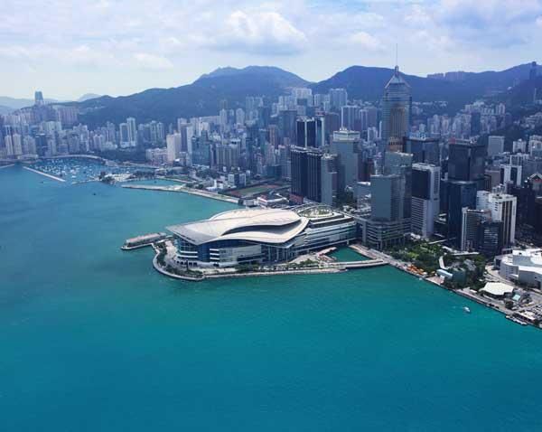 Hong Kong Convention Center, the site of Art Basel Hong Kong, via The Art Newspaper