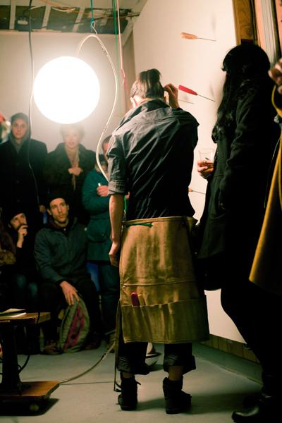 Aki Sasamoto, Talking in Circles Talking (Installation View), via Soloway Gallery