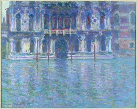 Le Palais Contarini, Monet
