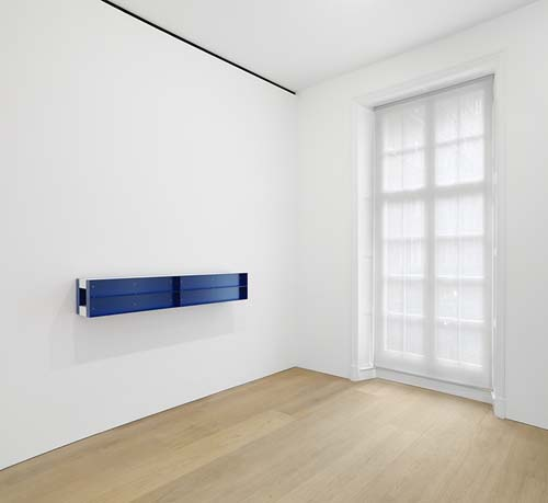 Donald Judd (Installation View), via David Zwirner