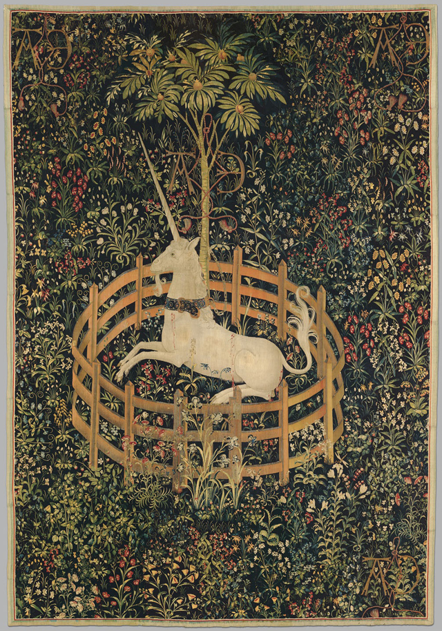 """The Unicorn in Captivity"" Courtesy of The Metropolitan Museum of Art)"