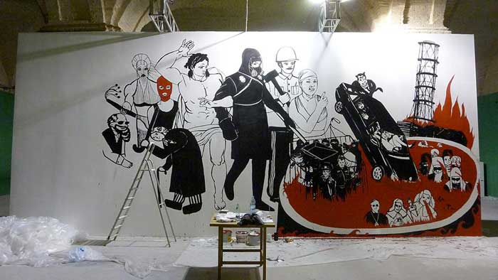"An unfinished ""The Last Judgement,' via Art Newspaper"