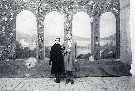 Gianfranco Gorgoni, Francesco and wife Alba (1983), Courtesy Thomas Ammann Fine Art AG, Zurich