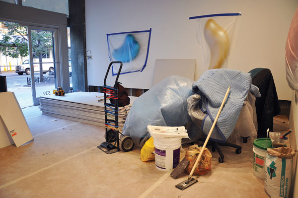Thatcher Projects after Sandy, via Art News