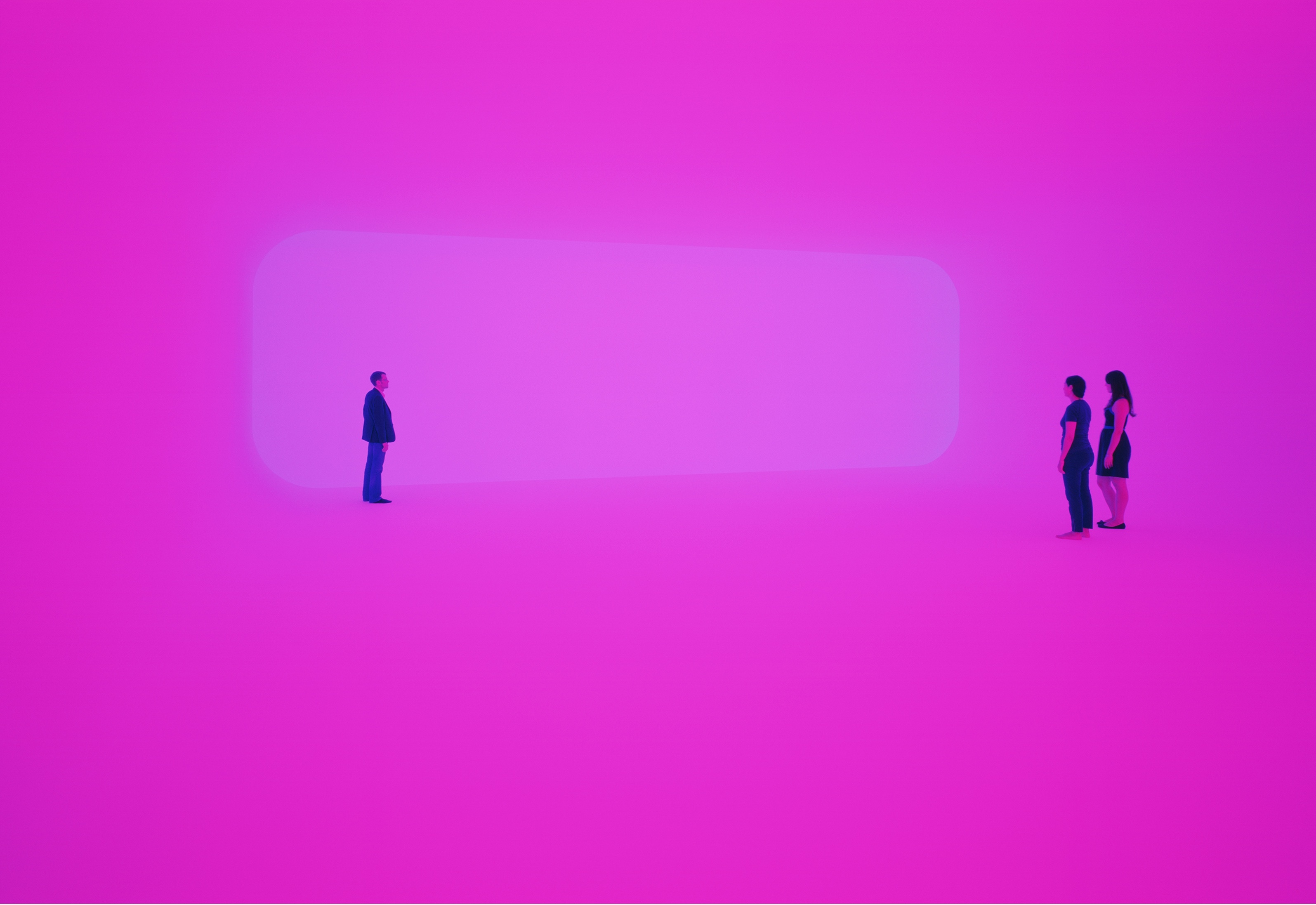 Turrell LACMA Breathing light pink