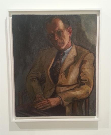 ALICE NEEL_Bill Caruthers, 1946_Robert Miller Gallery