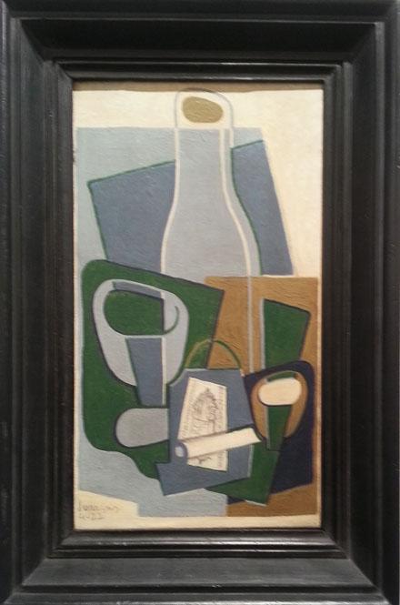 JUAN GRIS_Pipe et paquet de tabac, 1922_Galeria Leandro Navarro