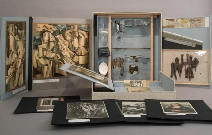 MARCEL DUCHAMP_De ou par Macel Duchamp ou Rrose Sélavy_1935:41-1958 C-series valise
