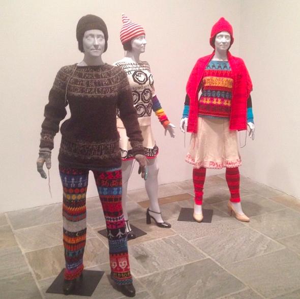 Lisa Anne Auerbach, via Art Observed