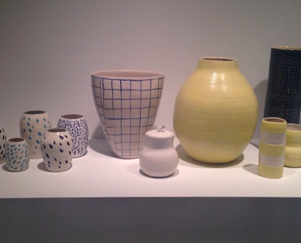 Pottery by Shio Kusaka, via Art Observed