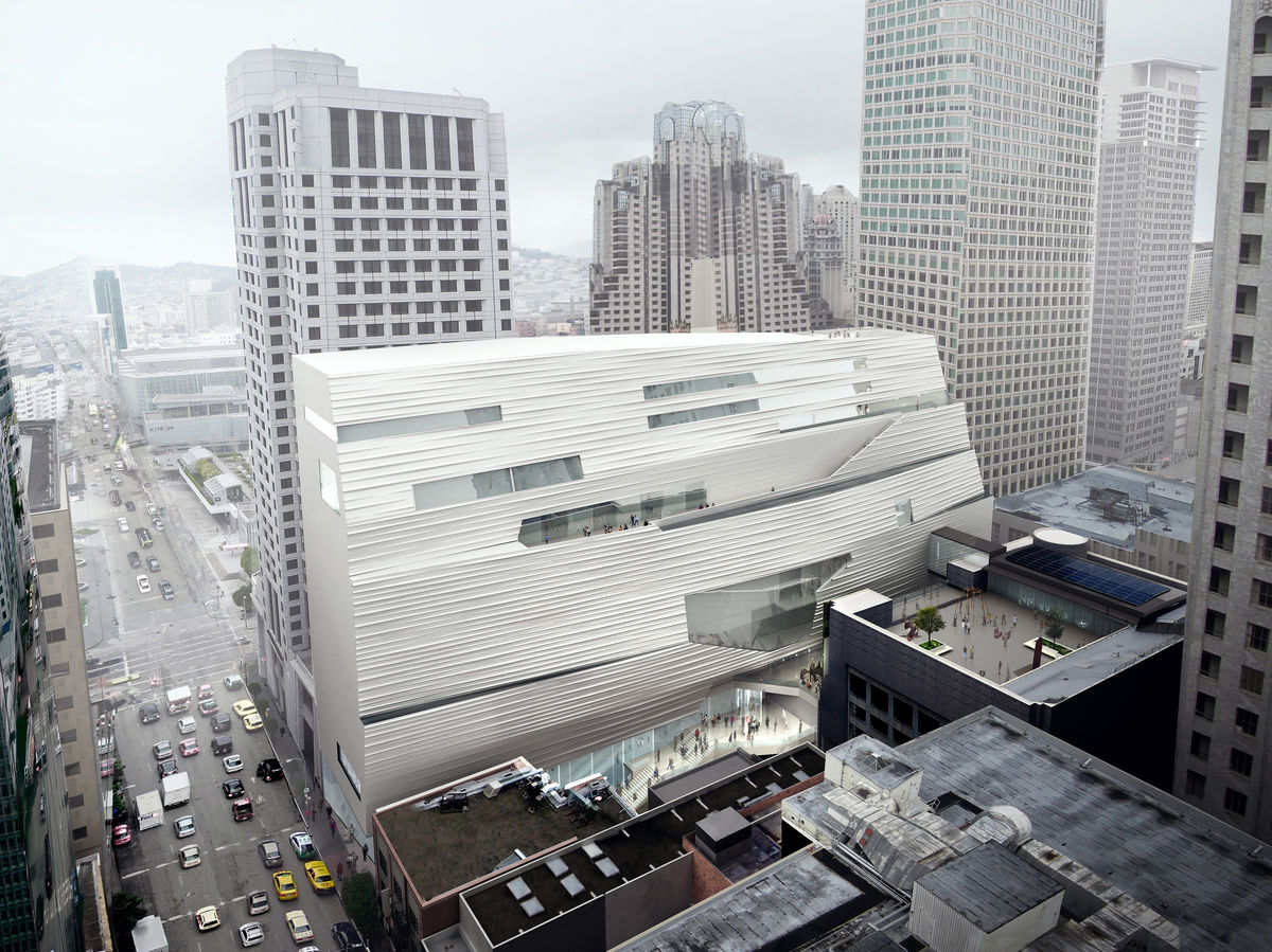 The new SFMOMA, via Bloomberg
