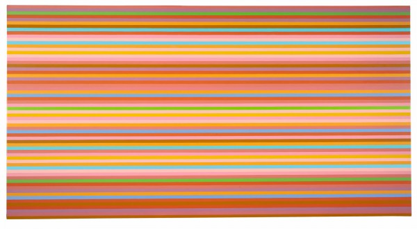 Bridget Riley, Brioso (Orange), 2013 via David Zwirner London